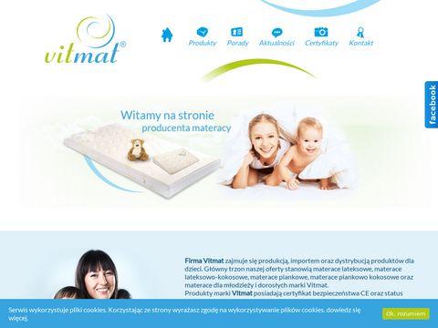 Vitmat- Produkcja Materacy Dla dzieci