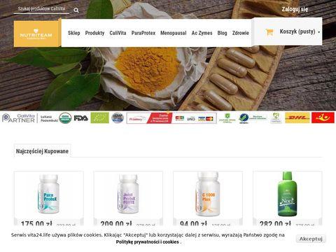 Cita24.life naturalne suplementy diety CaliVita