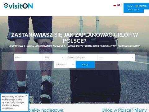 Visiton.pl - baza hoteli i obiektów turystycznych