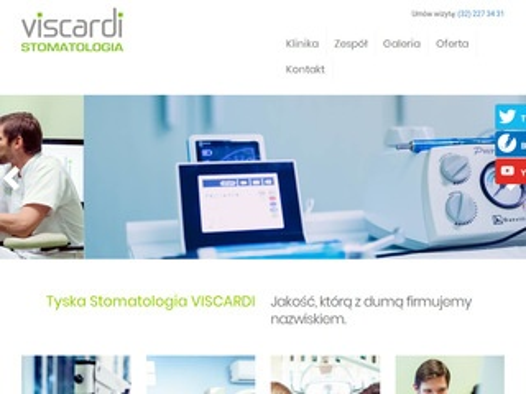 VISCARDI dentysta Katowice