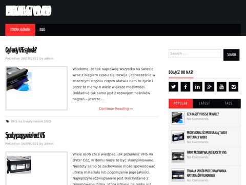 Vhs24.com.pl - przegrywanie vhs na dvd