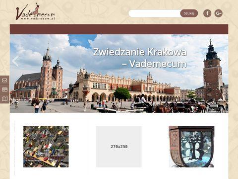 Zwiedzanie Krakowa z przewodnikiem - Vademecum