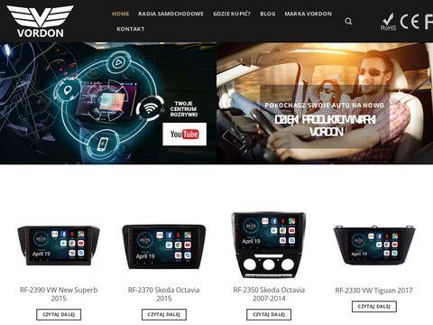 Vordon.pl nawigacje samochodowe