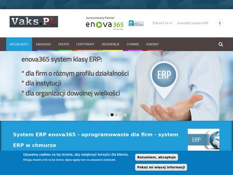 Enova ERP system od Vaks.PL