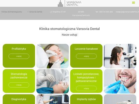 Varsoviadental.pl - stomatologia w Warszawie