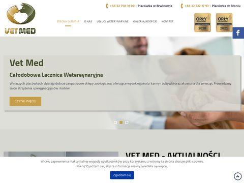 Vetmed.com.pl całodobowa lecznica weterynaryjna