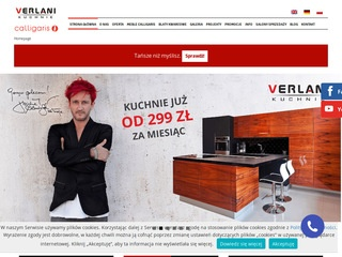 Verlani Meble kuchenne Szczecin