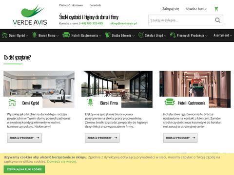 Verdeavis.pl środki czystości