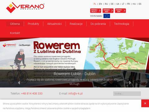 Verano-konwektor.pl ogrzewanie kanałowe