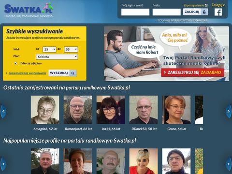 Swatka.pl - randki internetowe, oferty matrymonialne