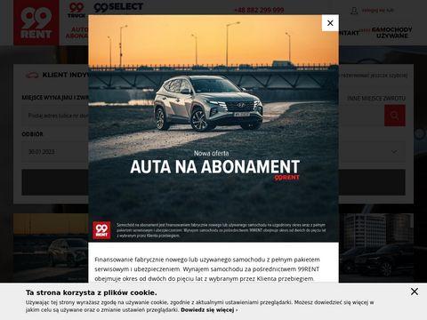 99rent.pl wypożyczalnia samochodów