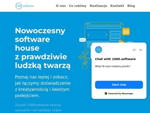 1000software.house usługi programistyczne