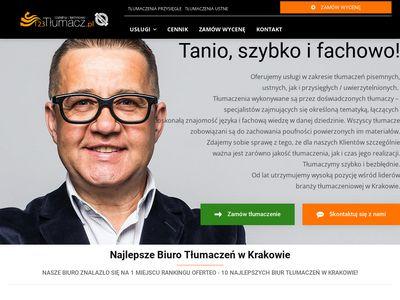123Krakow.pl - biuro tłumaczeń Kraków