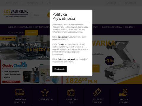 123gastro.pl sprzęt dla gastronomii