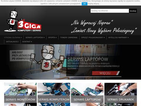 3giga.pl Białystok serwis komputerów i laptopów