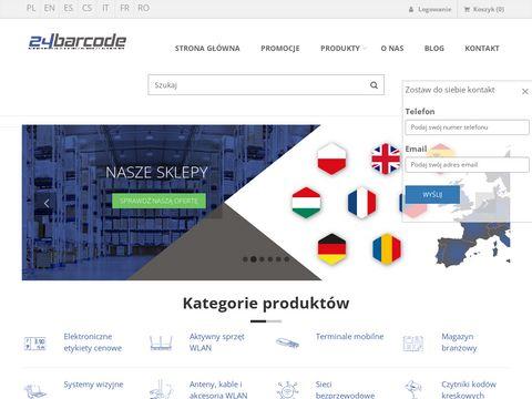 24barcode.pl sklep z systemami kodów kreskowych