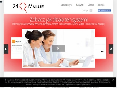 24ivalue - rachunek przepływów pieniężnych