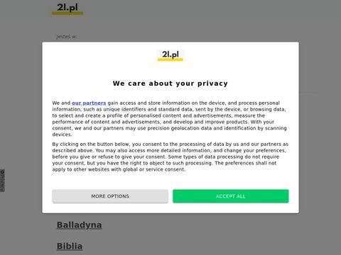 2l.pl streszczenia lektur