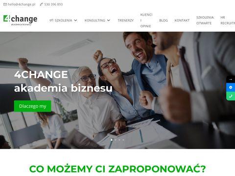 4change.pl znane szkolenia działów obsługi klienta