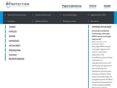 4protection.pl - systemy bezpieczeństwa