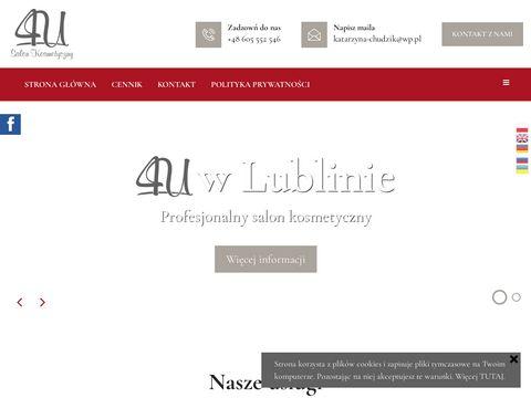 Salon kosmetyczny 4U zabiegi kosmetyczne