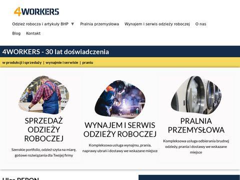 4workers.com.pl odzież robocza i artykuły BHP