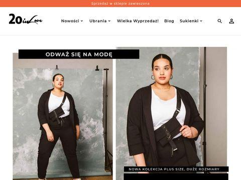 20inlove.pl moda plus size sklep internetowy