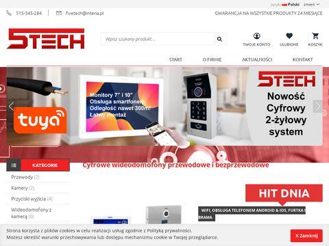5tech.pl wideodomofon z szyfratorem