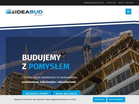 Ideabud Sp. z o. o. budowa obiektów handlowych