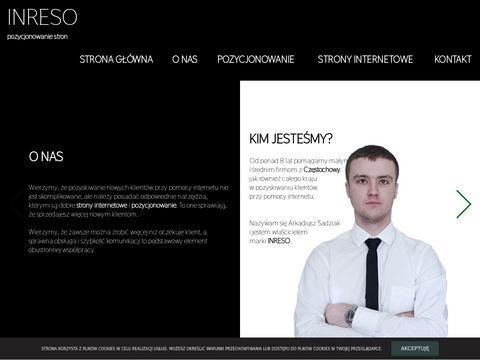 Inreso.pl sklepy internetowe Częstochowa