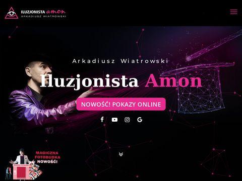 Iluzjonistaamon.com magik Bydgoszcz