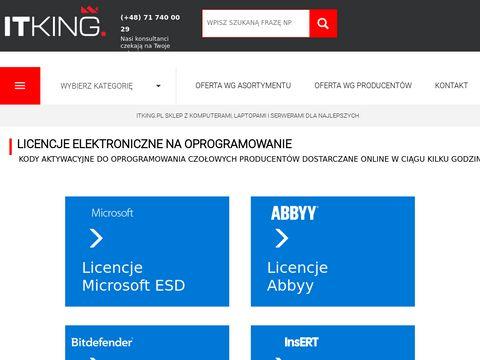 Itking.pl komputery serwery dla firm