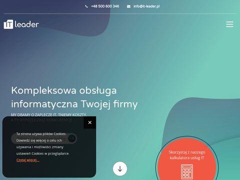 It-leader.pl obsługa informatyczna firm
