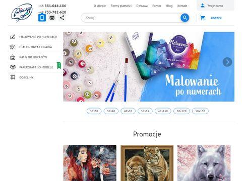 Malowanie po numerach sklep online - ipicasso.pl