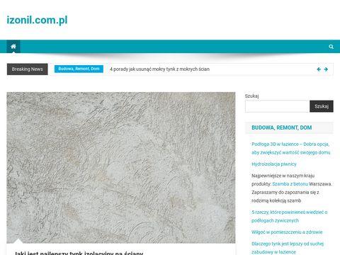 Izonil.com.pl nowoczesna hydroizolacja