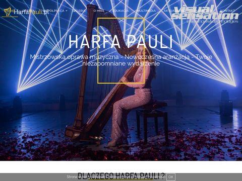 Harfapauli.pl oprawa muzyczna ślubu