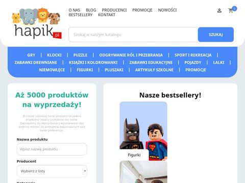 Hapik.pl sklep internetowy z zabawkami dla dzieci