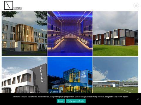 Hotelarstwo.com.pl projekt hotelu Palladium