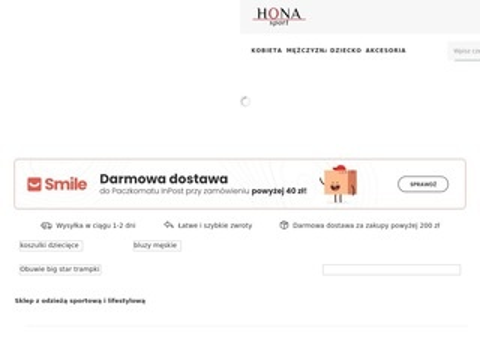 Honasport.pl sklep z odzieżą sportową