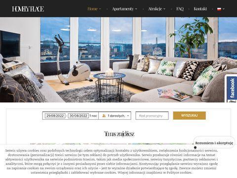 Homelyplace.pl apartamenty do wynajęcia Poznań