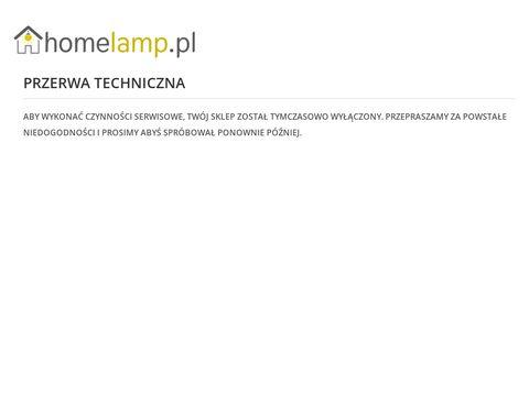 Homelamp.pl sklep z oświetleniem
