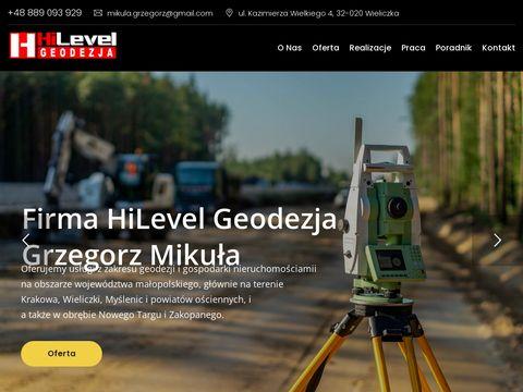 Hilevelgeodezja.pl Myślenice