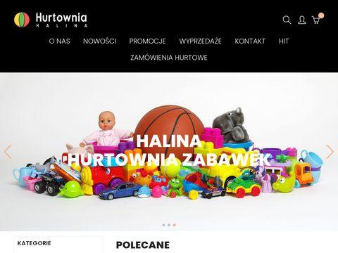Hurtowniahalina.com sklep z zabawkami online