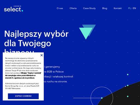 Kerrisselect.com reklama paid social