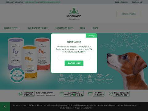 Kannawide.com CBD krople