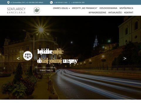Kancelariaszaflarscy.pl odszkodowania