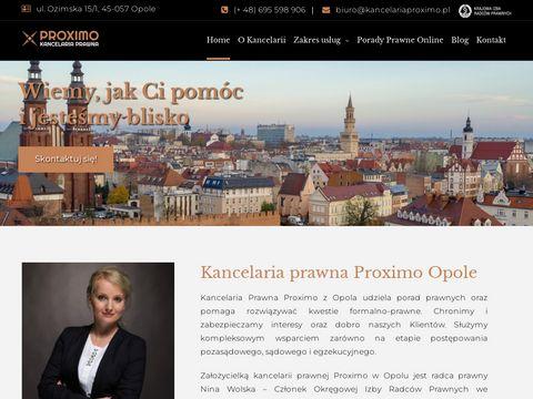 Kancelariaproximo.pl z Opola