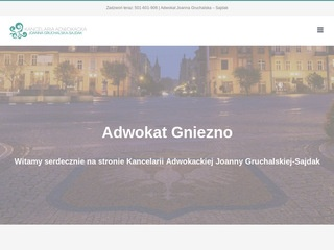 Kancelaria.gruchalska-sajdak.pl adwokat Gniezno