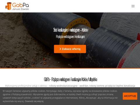 Kanalizacjakrakow.com roboty ziemne i sanitarne