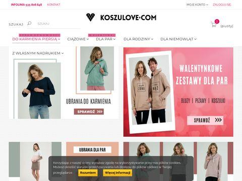 Koszulove.com ubiory ciążowe